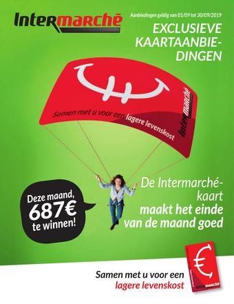 Intermarché reclame folder (geldig t/m 30-09)