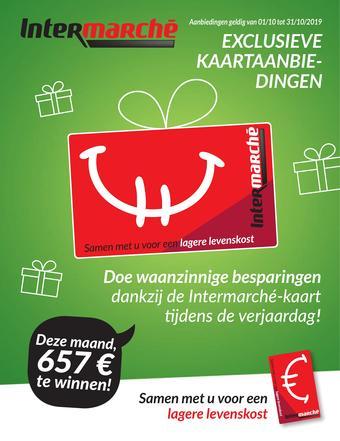 Intermarché reclame folder (geldig t/m 31-10)