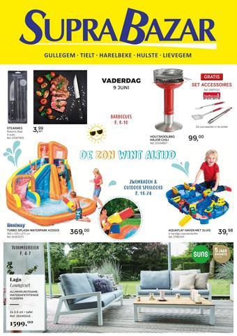 Supra Bazar reclame folder (geldig t/m 26-06)