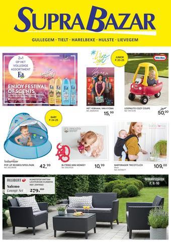Supra Bazar reclame folder (geldig t/m 23-07)
