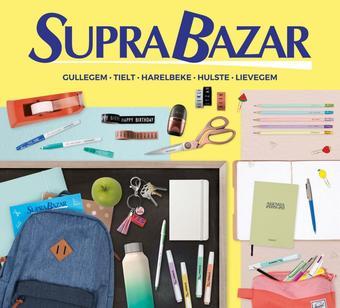 Supra Bazar reclame folder (geldig t/m 10-09)