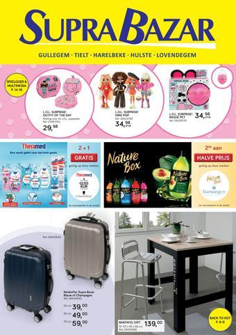 Supra Bazar reclame folder (geldig t/m 22-10)