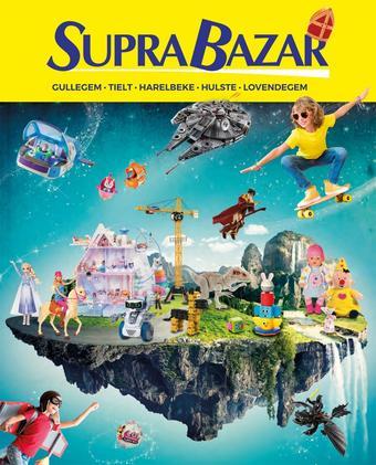 Supra Bazar reclame folder (geldig t/m 10-12)