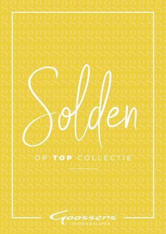 Goossens reclame folder (geldig t/m 21-07)