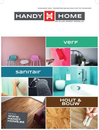HandyHome reclame folder (geldig t/m 14-08)