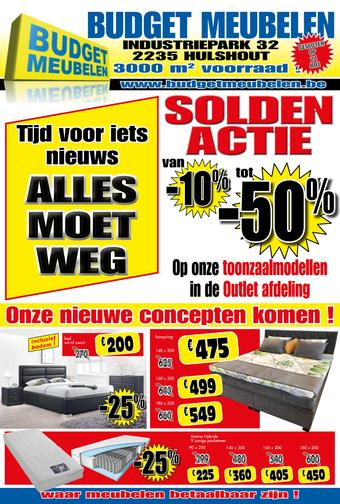 Budget Meubelen reclame folder (geldig t/m 31-07)