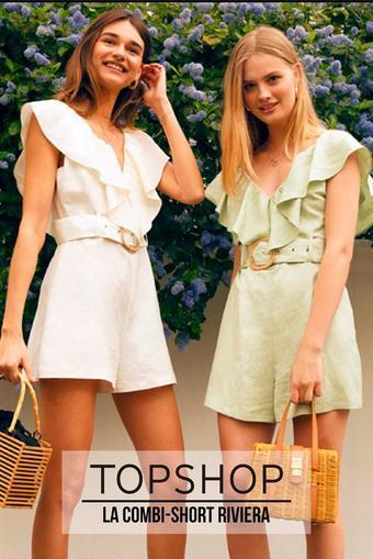 Top Shop reclame folder (geldig t/m 26-06)