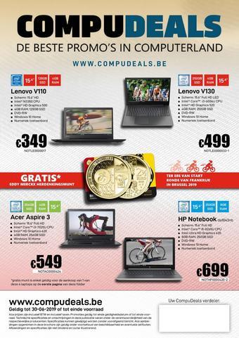 CompuDeals reclame folder (geldig t/m 30-06)