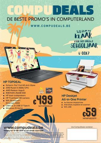CompuDeals reclame folder (geldig t/m 25-08)