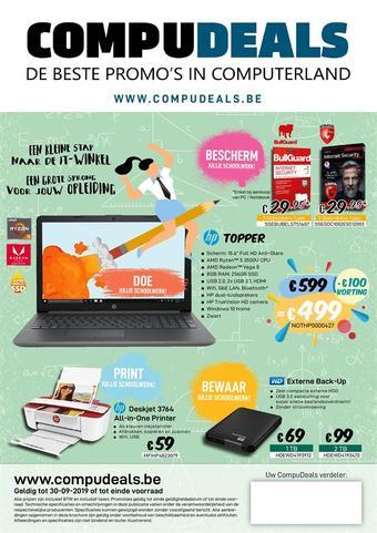 CompuDeals reclame folder (geldig t/m 30-09)