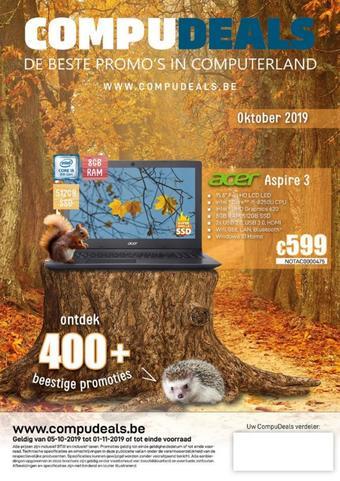 CompuDeals reclame folder (geldig t/m 01-11)