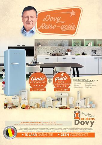 Dovy keukens reclame folder (geldig t/m 31-05)