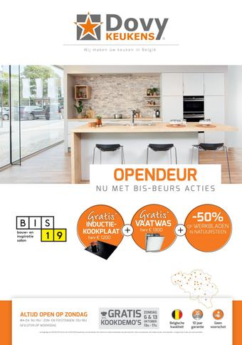 Dovy keukens reclame folder (geldig t/m 31-10)