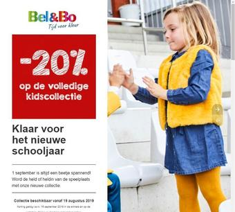 Bel&Bo reclame folder (geldig t/m 15-09)