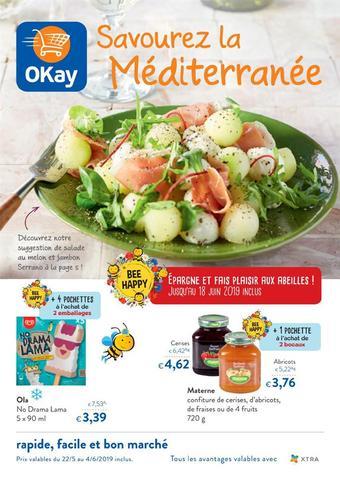 OKay Supermarkt reclame folder (geldig t/m 04-06)