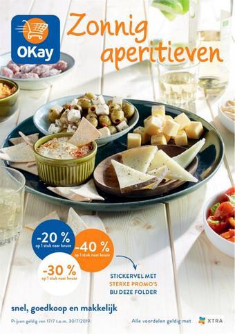 OKay Supermarkt reclame folder (geldig t/m 30-07)