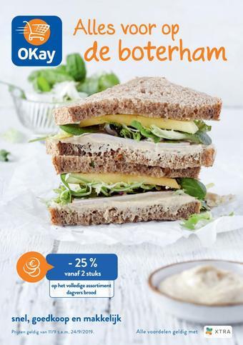 OKay Supermarkt reclame folder (geldig t/m 24-09)