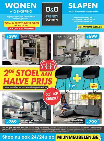 O&O Trendy Wonen reclame folder (geldig t/m 24-11)