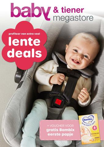 Baby & Tiener reclame folder (geldig t/m 25-05)