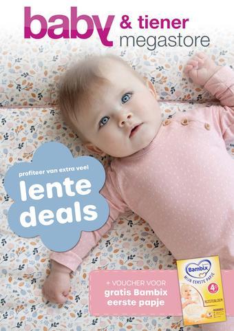 Baby & Tiener reclame folder (geldig t/m 01-06)