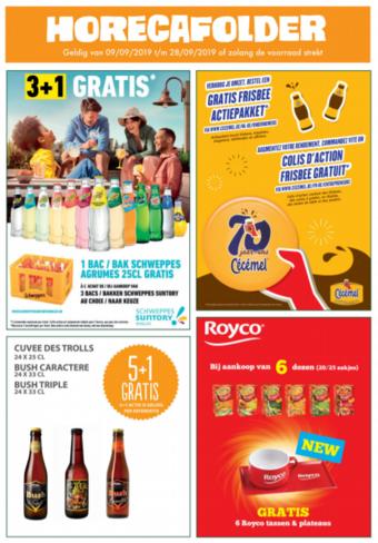 Prik en Tik reclame folder (geldig t/m 28-09)