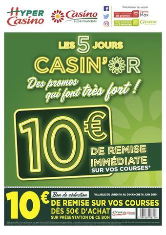 Hyper Casino catalogue publicitaire (valable jusqu'au 16-06)