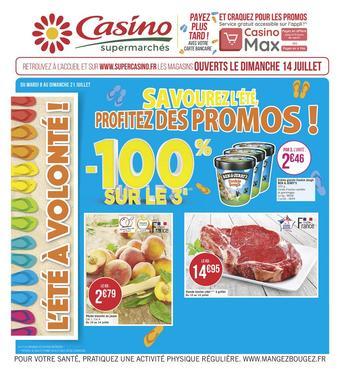 Hyper Casino catalogue publicitaire (valable jusqu'au 21-07)