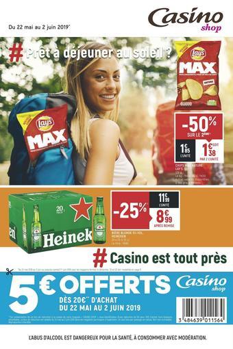 Casino Shop catalogue publicitaire (valable jusqu'au 02-06)