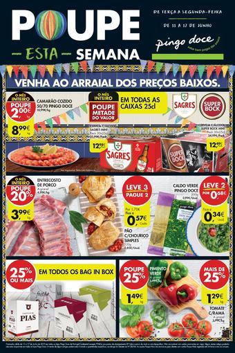 Pingo Doce folheto promocional (válido de 10 ate 17 17-06)