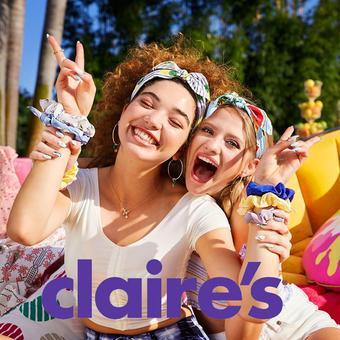 Claire's folheto promocional (válido de 10 ate 17 24-08)