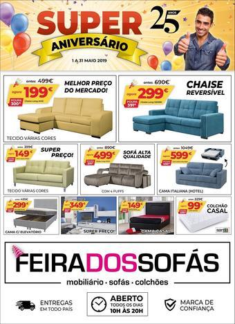 Feira dos Sofás folheto promocional (válido de 10 ate 17 31-05)