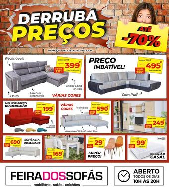 Feira dos Sofás folheto promocional (válido de 10 ate 17 31-07)