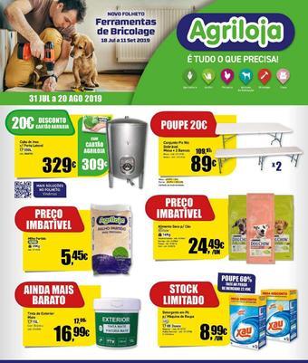 Agriloja folheto promocional (válido de 10 ate 17 11-09)