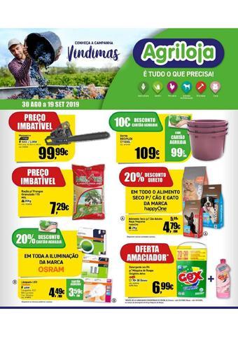 Agriloja folheto promocional (válido de 10 ate 17 19-09)