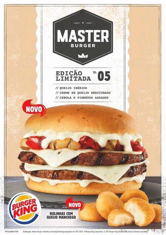 Burger King folheto promocional (válido de 10 ate 17 18-11)