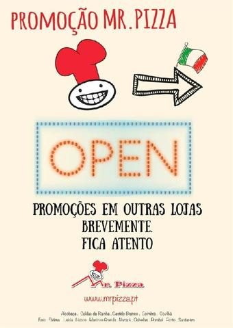 Mr Pizza folheto promocional (válido de 10 ate 17 31-12)