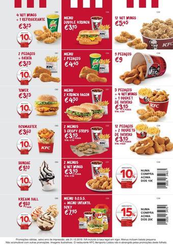 KFC folheto promocional (válido de 10 ate 17 31-12)