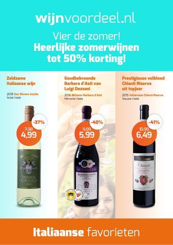 Wijnvoordeel reclame folder (geldig t/m 28-07)