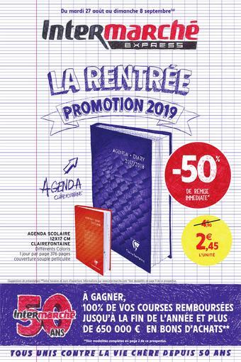 Intermarché Express catalogue publicitaire (valable jusqu'au 08-09)