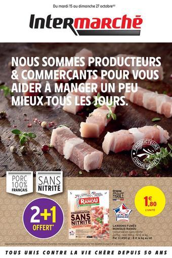 Intermarché Express catalogue publicitaire (valable jusqu'au 27-10)