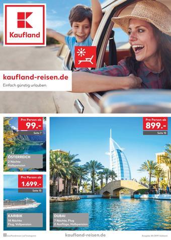 Kaufland Reisen Prospekt (bis einschl. 31-05)