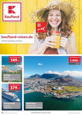 Kaufland Reisen Prospekt (bis einschl. 31-07)
