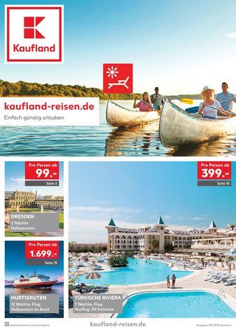 Kaufland Reisen Prospekt (bis einschl. 30-09)