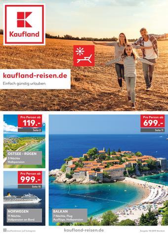 Kaufland Reisen Prospekt (bis einschl. 31-10)