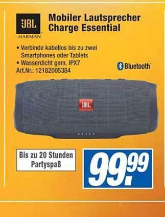 Mobiler Lautsprecher Charge Essential
