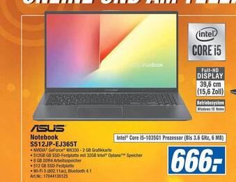 Asus Notebook S512JP-EJ365T