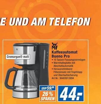 Mf Kaffeeautomat Bueno Pro