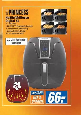 Princess HeiBluftfritteuse Digital XL