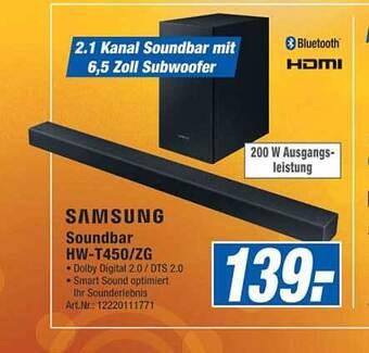 Samsung Soundbar HW-T450/ZG