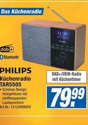 Philips Küchenradio TAR5505